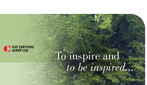 To inspire and to be inspired...